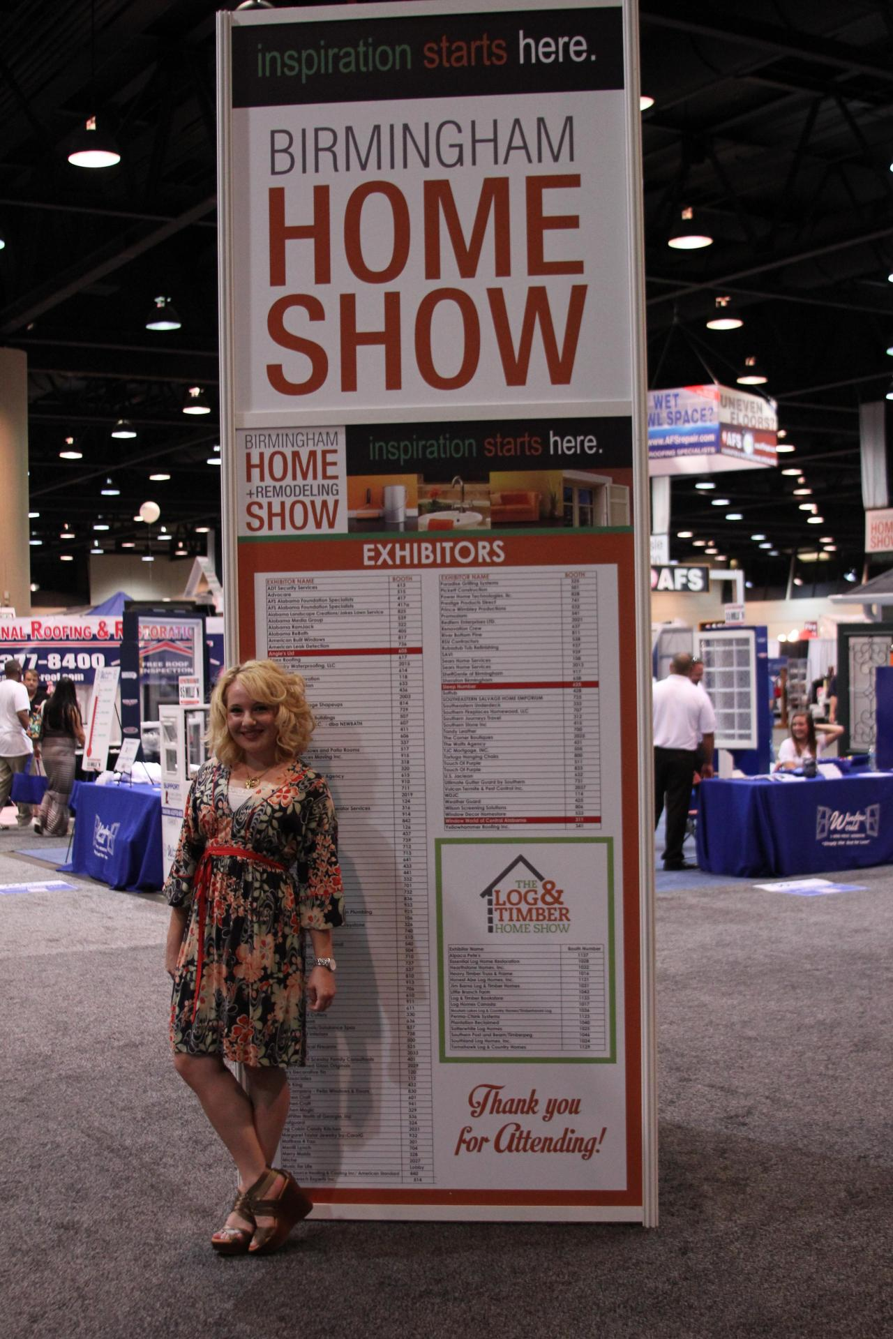 HOME SHOW TIME! Oh, it's almost like Christmas to a blogger.