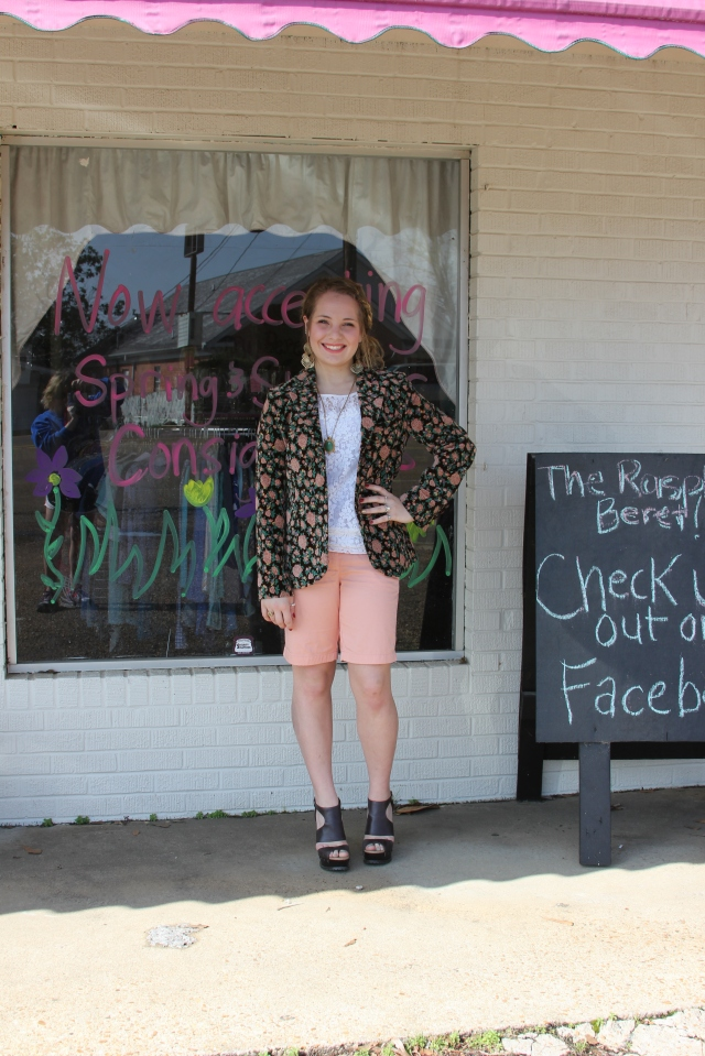 Whoa...SUPER throwback! Check out the details of this outfit + the interview with Raspberry Beret Shop owner (Louisville, MS) here.