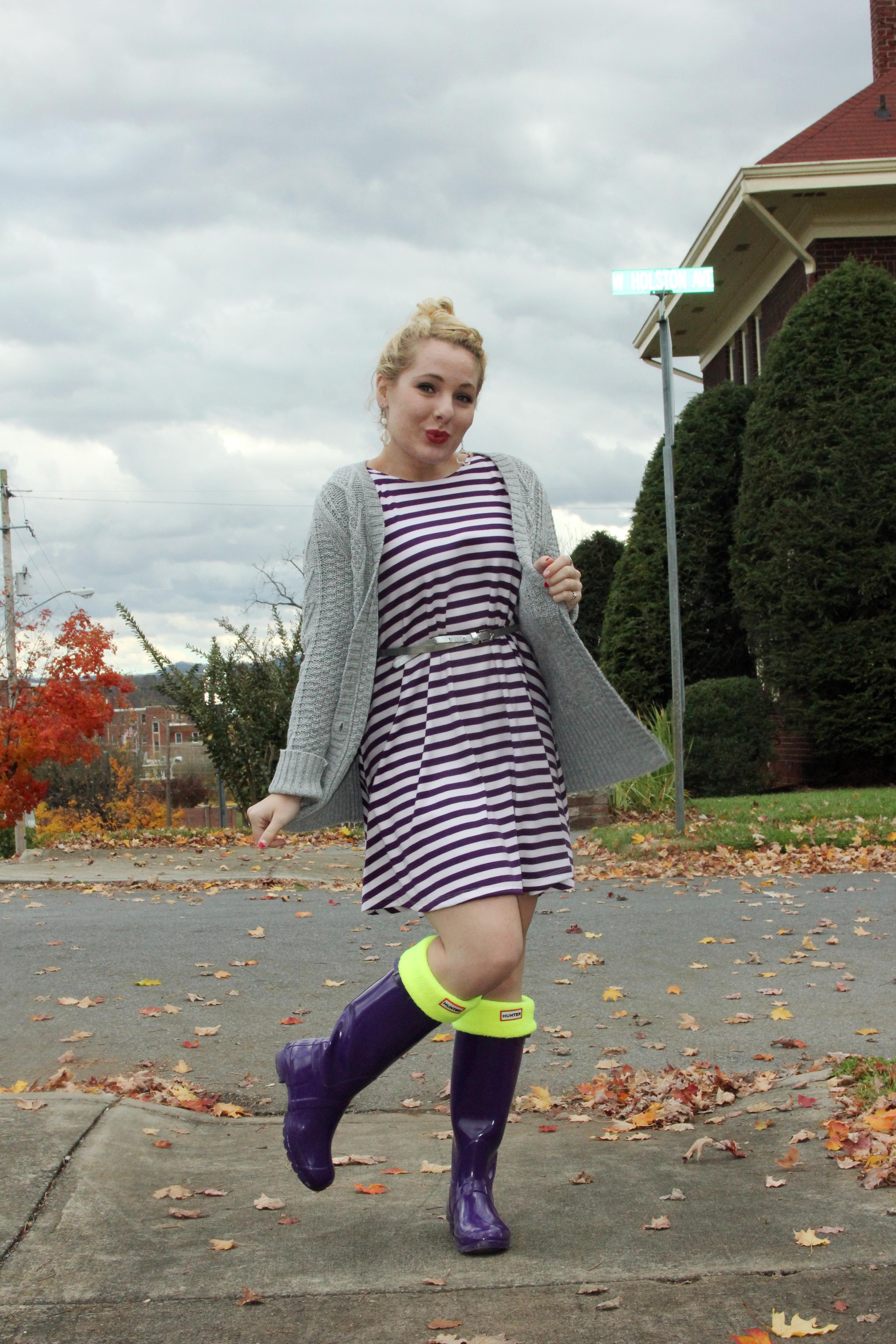 Three Ways To Wear Thursday: Purple Rain (Boots) | 3456 x 5184 jpeg 1665kB