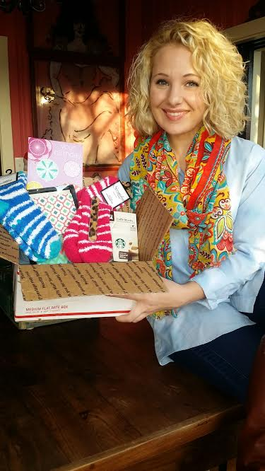 My awesome Aunt Karen shipped me a birthday care box. Love her:)