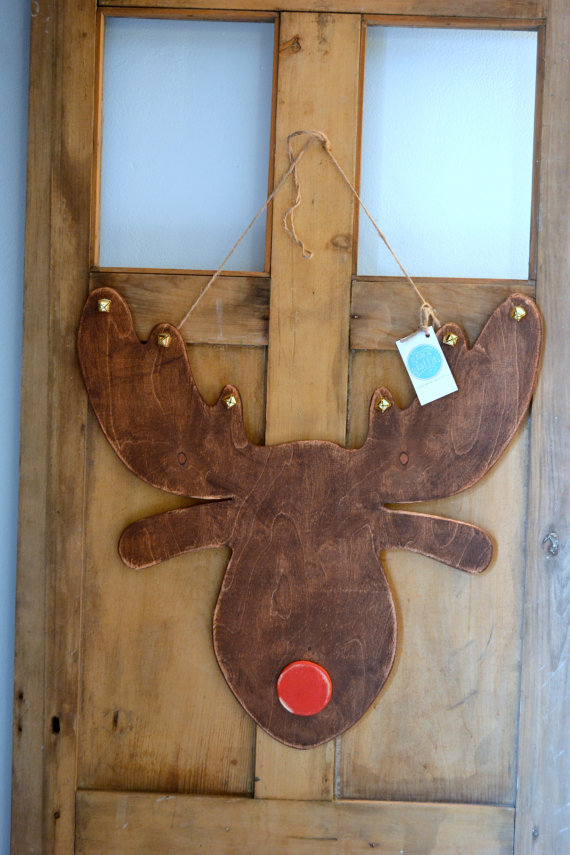 Grace Graffiti: click here to shop. I think this precious, handmade reindeer speaks for itself. I mean, come on...look at it *wink*