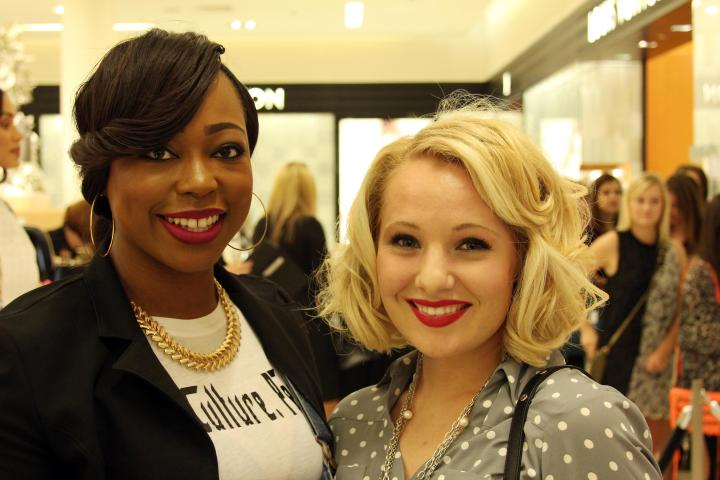 The VIP with blogger and makeup artist Je'Don Holloway-Talley at the RM event at Saks Birmingham! Check out all of awesomeness at Life. Culture. People! (click here)