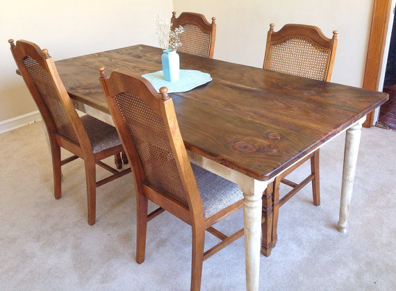 Sugar Mountain Woodworks: click here to shop. If the kitchen in my apartment was big enough to house this marvelous table, I would be snatching it up in a heartbeat!