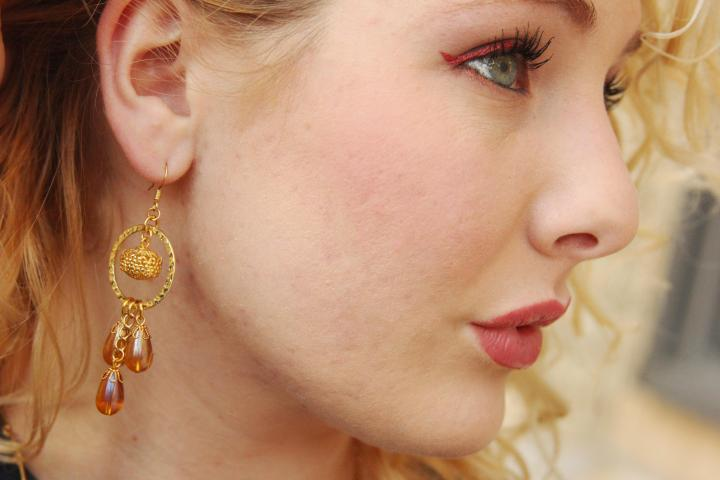 Earrings by BluKatDesign