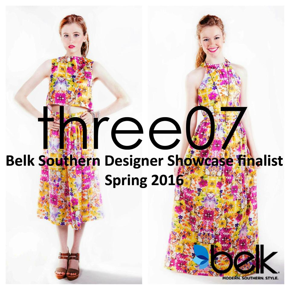 One of the VIP's favorite designers, three07, is one of the 19 finalists in Belk's 2015 Southern Designer Showcase! Check out the VIP Interview with three07 here + learn more about them being in the Belk Southern Showcase here.