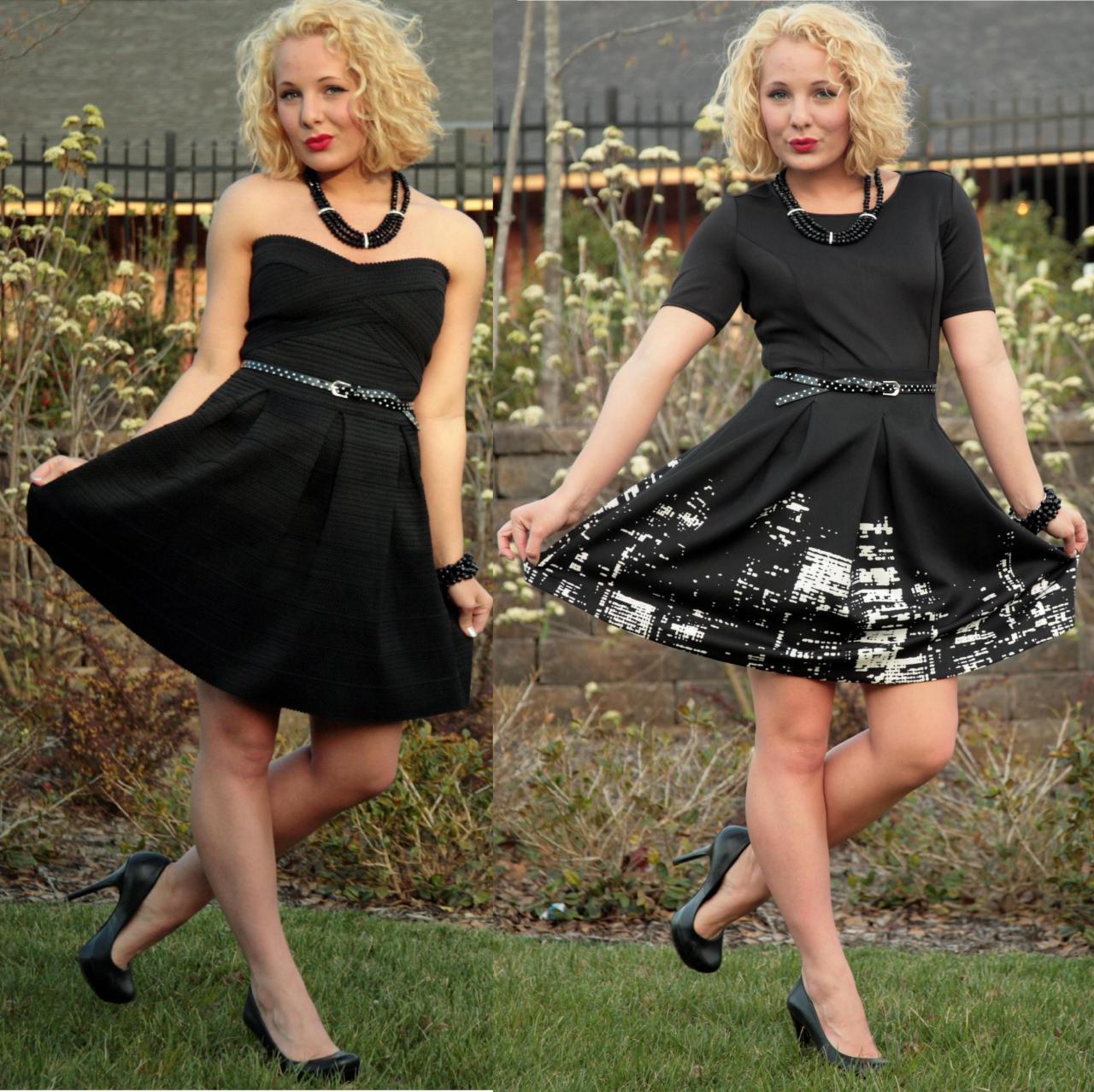 black and black
