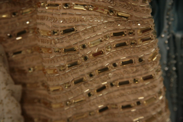And this prom dress *wink* I am all about the gold this year!