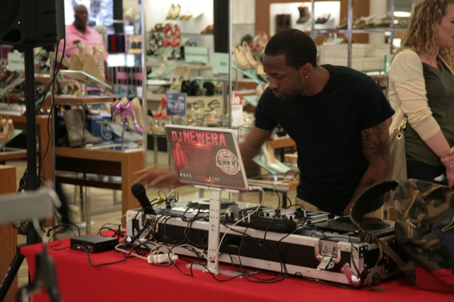 DJ New Era at work. He was such a fantastic DJ--I could not help but dance *wink*