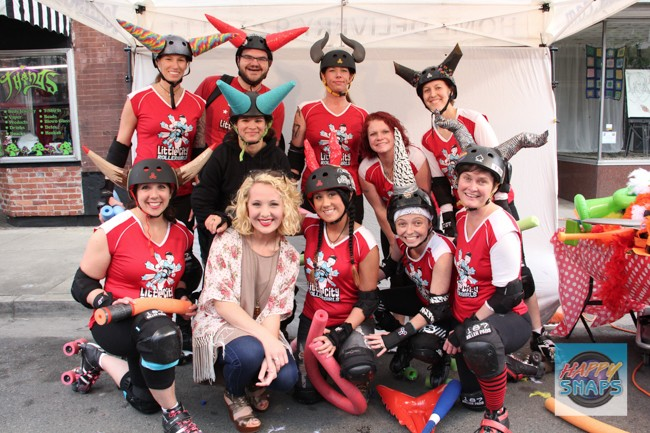 """All About Abby"" with the Little City Roller Girls rollerderby team. I cannot wait to attend my FIRST EVER roller derby at the Appalachian Fairgrounds on May 23rd! Get more details + purchase a ticket to join me  here."