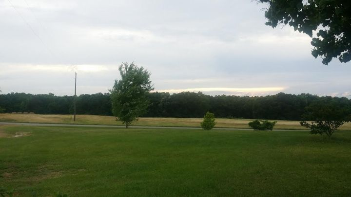 View from my Maw Maw and Paw Riley's house.
