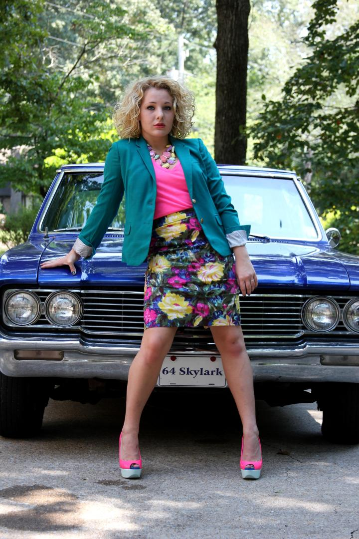 BEHOLD...one of my favorite outfits from the first VIP J.Crew Challenge. Click here for details + more pictures.