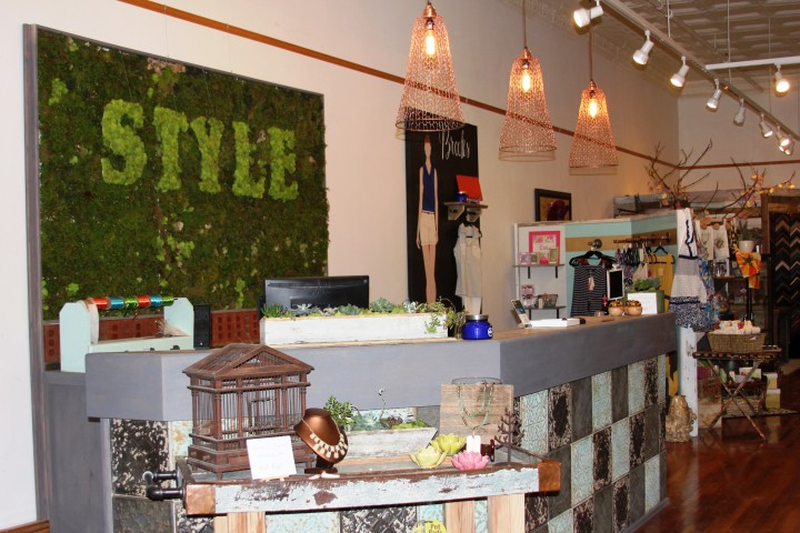 Style in downtown Bristol. There is also a Style boutique location in Kingsport--more places for more fabulousness *wink*