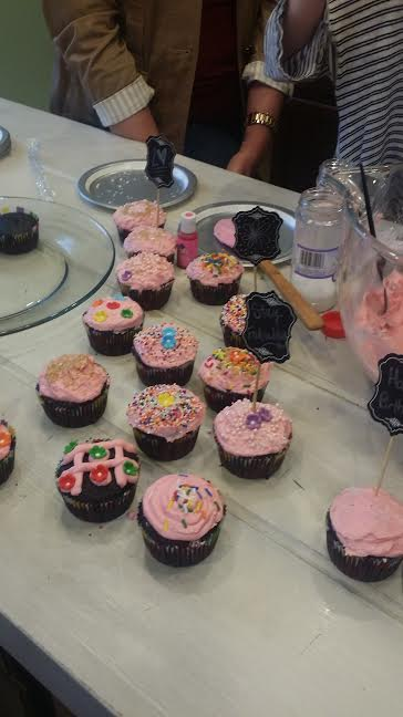 My friends and I are going to be cupcake artists. It's official *wink*