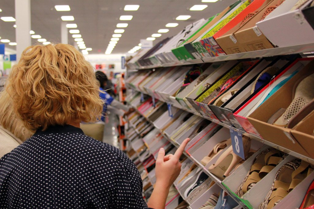 SHOES! SHOES! SHOES! Gabe's has so many fabulous shoes I didn't know what to do with myself *wink* To be honest, I was more impressed with the selection and variety at Gabe's than that of Marshall's and TJMaxx.