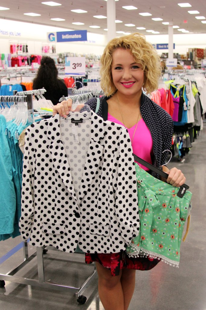 Two of the wonderful items I snagged at Gabe's. I don't want to spill the beans on the outfit ideas just yet--y'all will have to come back on Thursday to see *wink* Now, what I will tell you is that these two items were only about $25! You can't get a trendy blazer and printed shorts at the average department store for that kind of price!