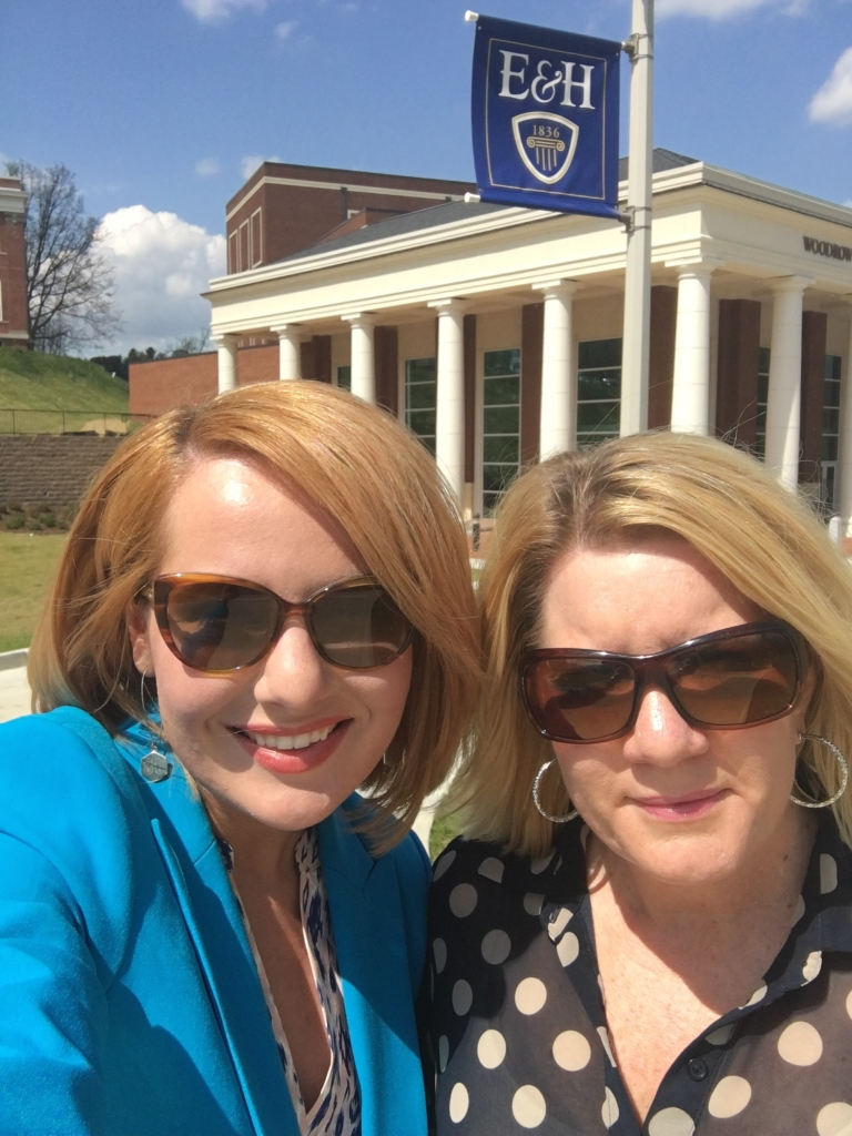 ALSO, shoutout to my mom for going with me today to my student news anchor audition at Emory & Henry! :)